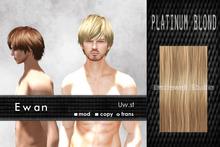 Uw.st   Ewan-Hair  Platinum blond