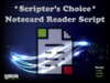 *SC* Notecard Reader Script