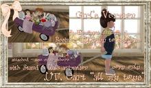 .UT. Toy Cart - Girls Version