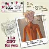 ..:ReeA Tattoo:.. The Princess Gift for Female