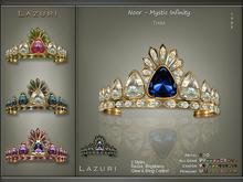 [< Lazuri >] Noor Mystic Infinity Tiara Color Change