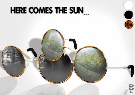 [DDL]Here Comes The Sun (sunglasses) Black