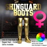 ShinGuard Boots - Female