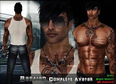 BASTIAN Complete avatar, Special edition! NEW!!