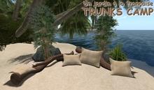 TRUNKS CAMP 3 - campfire - camp fire - tiki outdoor trunks