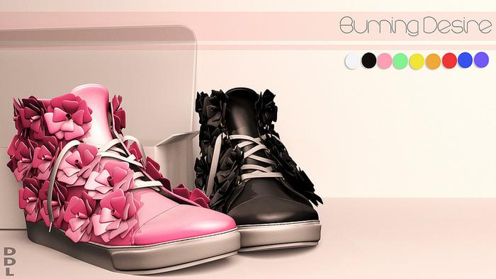 [DDL] Burning Desire (Pink)