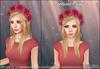 [Wishbox] Festival Crown (Fuchsia) - Hot Pink Flower Wreath / Garland for Hair Headpiece