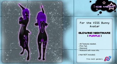 ! Ice Meep ! ~ Glowing Nightmare PURPLE