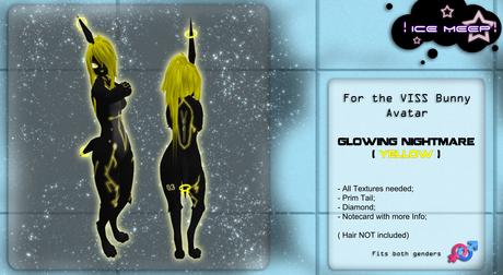! Ice Meep ! ~ Glowing Nightmare YELLOW