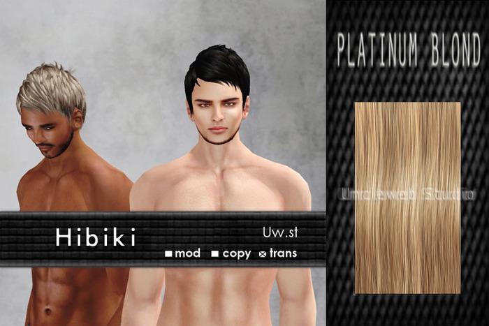 Uw.st   Hibiki-Hair  Platinum blond