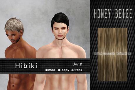 Uw.st   Hibiki-Hair  Honey beige