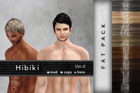 Uw.st   Hibiki-Hair   Fat pack