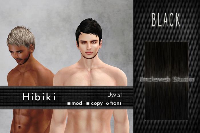 Uw.st   Hibiki-Hair  Black