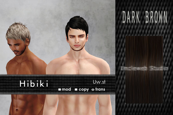 Uw.st   Hibiki-Hair  Dark brown