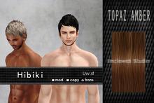 Uw.st   Hibiki-Hair  Topaz amber