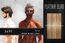 Uw.st   Jeff-Hair  Platinum blond