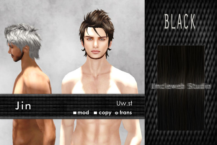 Uw.st   Jin-Hair  Black