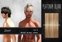 Uw.st   Jint-Hair  Platinum blond