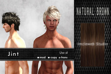 Uw.st   Jint-Hair  Natural brown