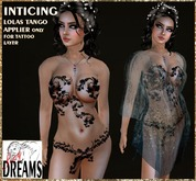 * Sexy Dreams * - Inticing Outfit blue with lolas tango applier