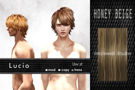 Uw.st   Lucio-Hair  Honey beige
