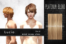 Uw.st   Lucio-Hair  Platinum blond
