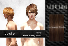 Uw.st   Lucio-Hair  Natural brown