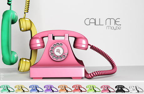 [DDL] Call Me, Maybe (Pink)
