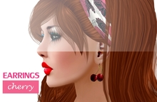 **Stylovely**Earrings Cherry
