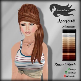 Tameless Hair Lanore (MESH) - Naturals