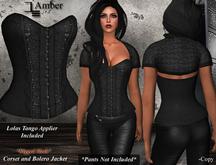 DE Designs - Amber - Black