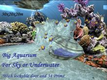 Aquarium in a box(click for pictures) Skybox or underwaterbox