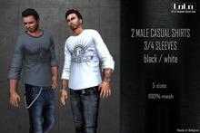 .:LoLa:. 3/4 sleeve shirt clintons