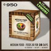 Zooby's - Medium Lemur Food Basket