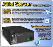 ASD ATM Server (Single Version) - Lets Alts & Employees Withdraw/Deposit Money - Bank Account