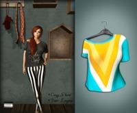 "Cozy Shirt ""Triangle"" (mesh) - even.flow"