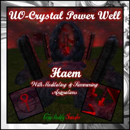 [UO]-Crystal Power Well-Haem w/Anims