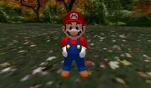 Mesh Super Mario Rigged Mesh Avatar