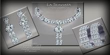 La Traviata Jewellery Set Diam by Chop Zuey Couture Jewellery
