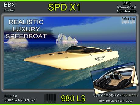 Speedboat X1