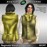 AB Reginald Victorian Waistcoat Yellow