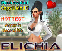 Elichea - HOT! - Mesh Anime Avatar!
