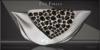 Feu Follet Jeweled Clutch Handbag Wht/Onyx by Chop Zuey Couture Jewellery