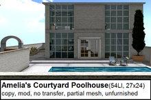 Amelia's Courtyard Poolhouse