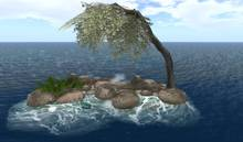 CJ Pile of Rocks / Out Sim with great crashing Waves