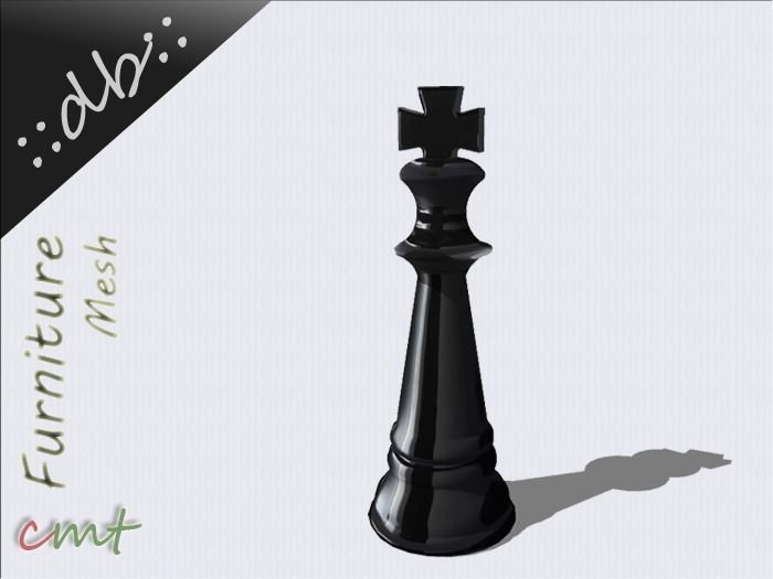 ::db furniture:: Decorative Chess Figur