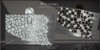 Nocturne Jeweled Clutch Purses Slv by Chop Zuey Couture Jewellery