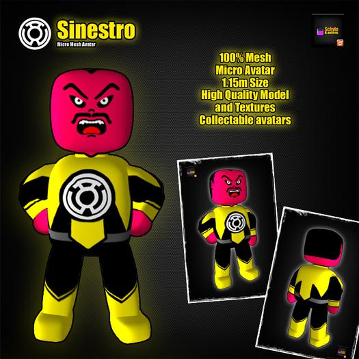 [LR]Tuli Koko - Sinestro - Micro Mesh Avatar - SPECIAL PRICE!