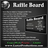 Raffle Board / Raffle Contest / Prize Giver