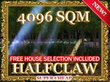HALFCLAW RENTALS + FREE GIFT
